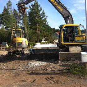 Jk-koneurkointi kaivuri