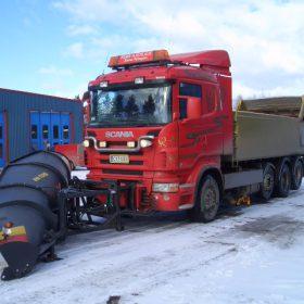 Scania R470 lumiauralla
